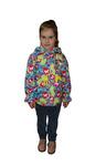 4606  Куртка для девочек на флисе