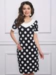 Платье Модена-люкс (элегантный горох)