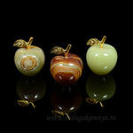 Яблоко из оникса 1,25 (3*4см) 50гр. Артикул:1211201