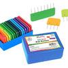 Иглы-фиксаторы для блокировки вязаных изделий, разноцветные