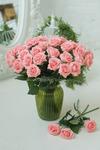 Роза малая светло розовая