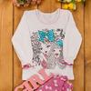 Пижама для девочек с накатом