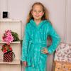 Халат для девочек с поясом