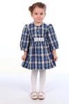 МД-035 Платье детское (р.26-36) шотландка