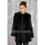 Норковая вязаная куртка Артикул:SV-2046-CH