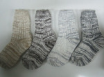Шерстяные носки круговой вязки(подростковые)