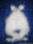 Шапка шерстяная детская из пуха ангорского кролика