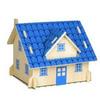Европейский дом (голубой)