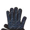 Перчатки рабочие с ПВХ 10-й класс чёрные 5-и нитка (Волна)