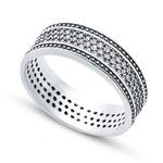 Серебряное кольцо      Артикул: 01fyr10479a-113