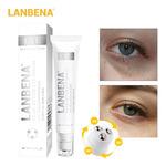 Серум для области вокруг глаз от темных кругом с улиточным муцином Lanbena Snail Repair Eye Serum