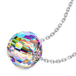 NINASUN Necklace 925 Sterling Silver Fantastic World Series Pendant Necklace for Women, Crystals from Swarovski