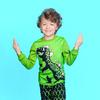 """Домашний костюм """"Динозавр"""",зеленый"""