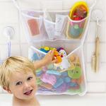 Органайзер для игрушек 4 кармашка в ванную