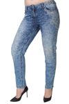Крутые женские джинсы Aniston с аппликацией на бедре.  Яркие, неординарные джинсята, которые НЕ провисают на попе №2047