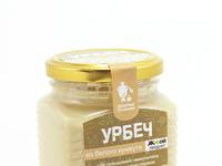 Урбеч из белого кунжута с медом - НОВИНКА