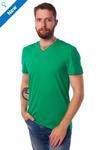 Мужская футболка КУЛИРКА - V - Зеленый