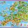 Игра-ходилка с фишками. Вокруг света. Европа. 59х42 см. ГЕОДОМ