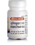 Кримикутхар Рас, антигельминтное средство, 80 таб, производитель Байдьянатх; Krimikuthar Ras, 80 tabs, Baidyanath