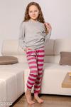 Пижама свободного кроя из мягкой ткани от дизайнеров Gepur