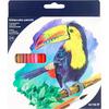 Карандаши цветные акварельные, 24 шт., kite