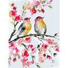 Картина по номерам GX25684 Весенние синички 40*50 см