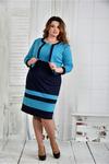 Костюм 0435-2 (платье и жакет)