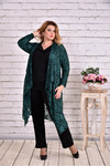 накидка и черная блузка (комплект) | 0632
