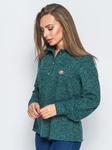 Лаконичная рубашка из теплой ангоры