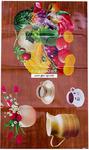 Клеёнка кухонная (двухсторонняя) №Д140
