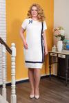 Платье 543.10.6+брошь