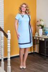 Платье 543.10.3+брошь