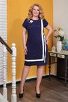 Платье 543.10.2+брошь