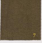 Блэкаут Лен крупная рогожка (ПЛ~280 г/м2) Y391 №7 коричневый 280 см