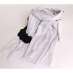 шарф >111 СЕРЫЙ