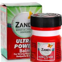 Бальзам Ультра Сила от суставных и головных болях, 8 мл, производитель Занду; Balm Ultra Power, 8 ml, Zandu