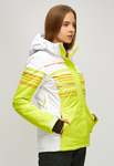 Женский зимний горнолыжный костюм салатового цвета 01856Sl