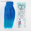 """Волосы - тресс для кукол """"Прямые"""" длина волос 20 см, ширина 100 см, №LSA039 2 ШТУКИ"""
