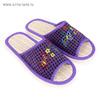 Туфли комнатные женские арт. А-70-006-06 (фиолетовый) (р. 38/39)