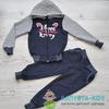 Спортивный костюм (кофта+брюки) для девочк
