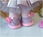Готовые туфельки для куколки, ручная работа ТГ-004