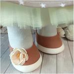 Готовые туфельки для куколки, ручная работа ТГ-003