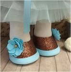 Готовые туфельки для куколки, ручная работа ТГ-002