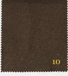 Блэкаут Лен крупная рогожка (ПЛ~280 г/м2) Y391 №10 темно коричневый 280 см
