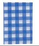 Скатерть 120х150 П/Э Клетка синяя