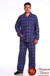 М92 Пижама мужская фланелевая