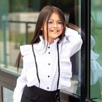"""Школьная блуза для девочки """"SH-70"""" (рост 152 см)"""