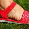 131 Обувь домашняя (Сандалии кожаные)