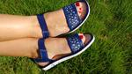 132- Обувь домашняя (Сандалии кожаные)