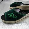 154- Обувь домашняя (Тапочки текстильные)